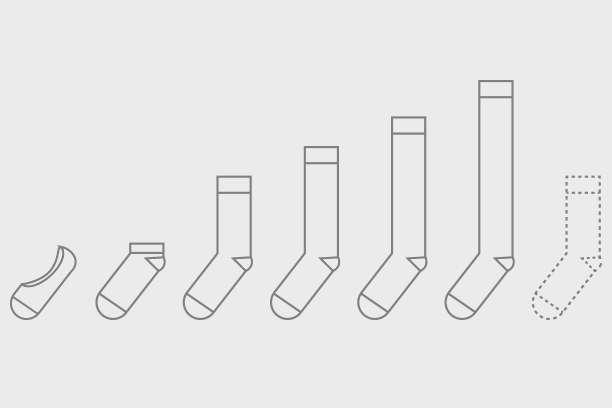 Basics of custom socks - socks length