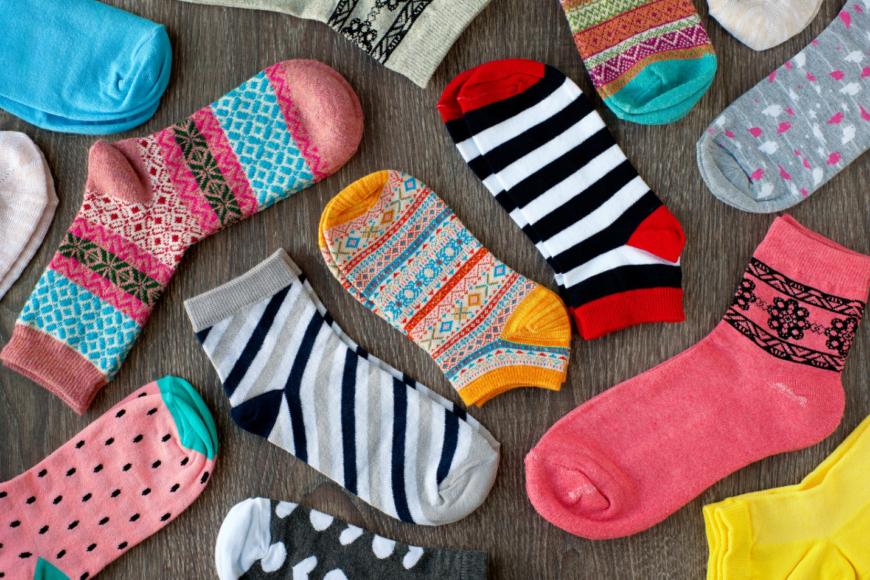 8 types of socks